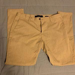 Light Gold/Beige Zara Dress Pants 32
